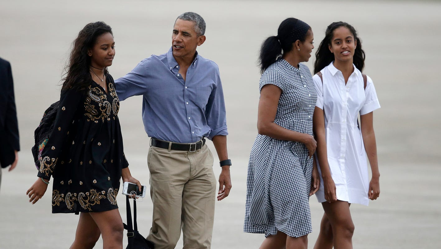 Michelle Obama shares her family's quarantine routine: Online college, conference calls and Netflix