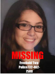 Destiny Gallagher, 18, walked away from her home in Freehold Township, police said.