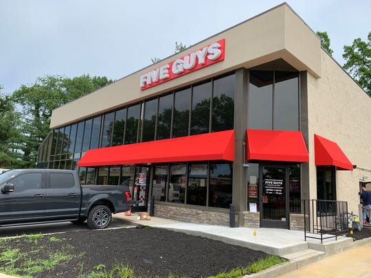 Five Guys Burgers and Fries opens in Wall on June 20.
