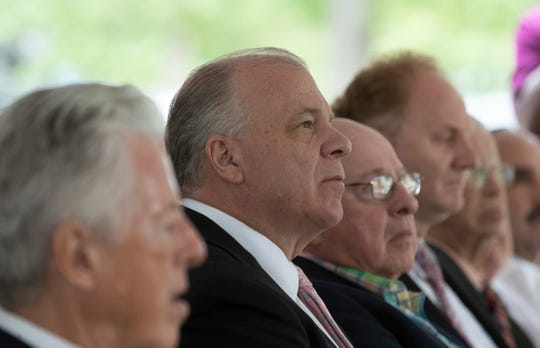 NJ Senate President Stephen Sweeney attended the Six Flags Great Adventure Solar Energy Press Conference in Jackson, NJ.