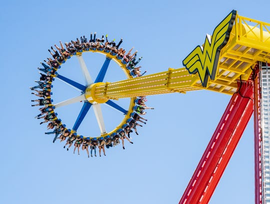 Wonder Woman Lasso of Truth has arrived at Six Flags Great Adventure in Jackson.