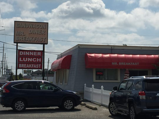 The Bandwagon Diner is located on Route 37 East in Toms River.