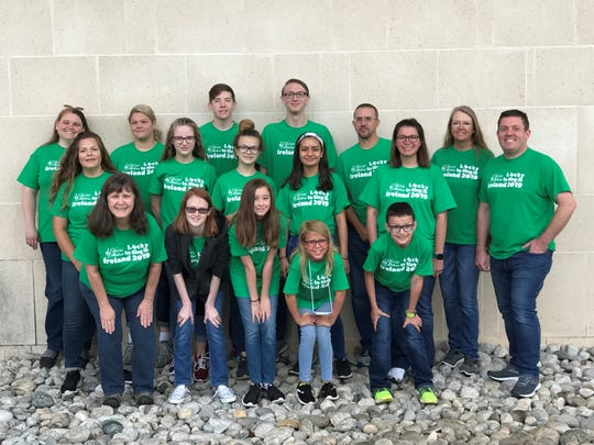 Chorus Abilene students in Ireland to tour and perform.