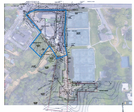Asheville City Council voted June 11 to sell city land at 360 Hilliard Ave. to Kassinger Development Group to support an affordable housing and mixed-use residential development. The project has been in the works since 2017 but has changed several times due to financing hurdles and changes to the project's size and scope.