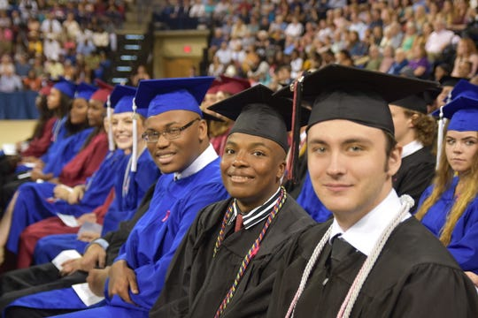 The Asheville High and SILSA graduation was June 8, 2019, at UNC Asheville's Kimmel Arena.
