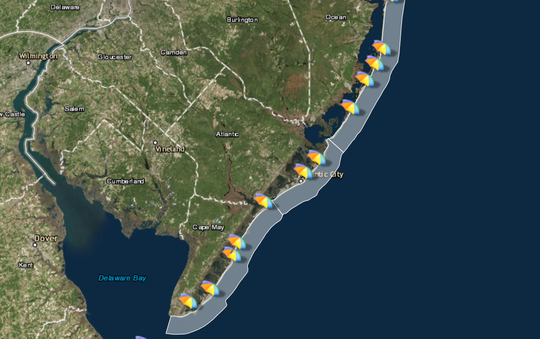 Will you need a beach umbrella or rain umbrella at the Jersey Shore this weekend?