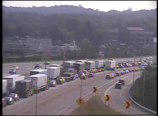 NB I-75 at Buttermilk Pike