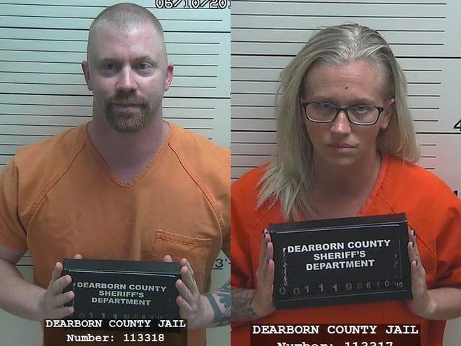 Nicholas Gilbertson, left, and Cori Gilbertson