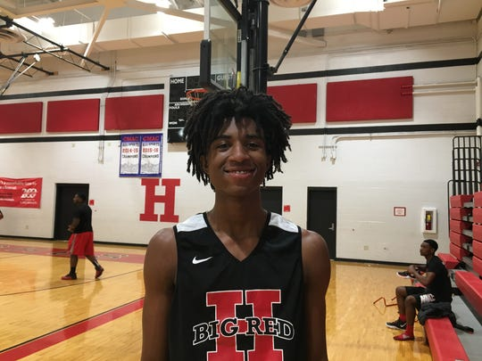 Hughes freshman Rayvon Griffith should bring added excitement to Big Red games