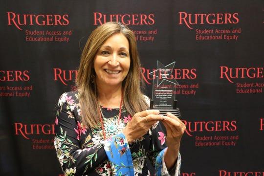 Rutgers Upward Bound Program Awards Community Partner Award to Gloria Montealegre,  Plainfield Public Schools Community Engagement Liaison