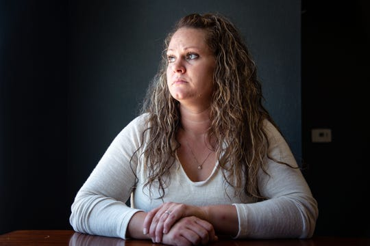 Stephanie Hilgenberg stands for a portrait at her office Monday, June 10, 2019.