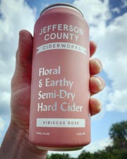 Jefferson County Ciderworks in Fairfield recently took home a gold medal from the Great Lakes International Cider and Perry Competition (GLINTCAP) for its Hibiscus Rose Cider.