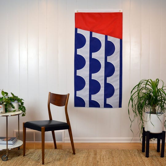 Des Moines flag available for sale through the Flag of Des Moines online store on June 12, 2019.