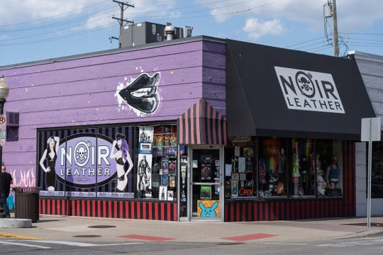 Noir Leather's current location at Fourth and Center in Royal Oak.
