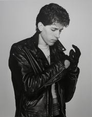 A 1980s modeling photo of Noir Leather owner Keith Howarth.