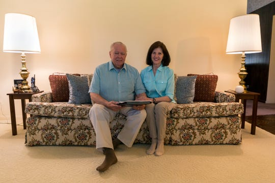 Robert Allison, 74, and his wife Suzann Allison are photographed at home in Farmington Hills, Mich.,Tuesday, June 11, 2019. The couple and thousands of other consumers are losing thousands of dollars to exit timeshares, according to complaints made to the Better Business Bureau.