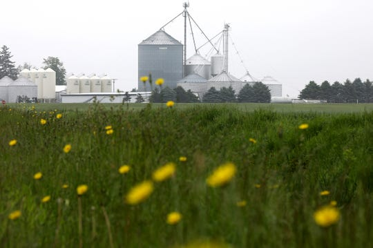 A look at the large Fike Farms in Jasper, Michigan on Wednesday, May 29, 2019.