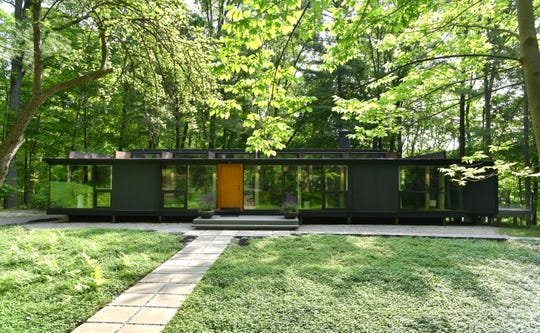Shane Pliska of Bloomfield Hills has a name for his unique home perched among the trees: TreeHaus.