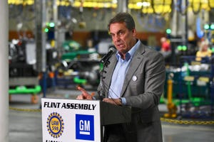 GM President Mark Reuss announced Wednesday in Flint that GM will invest $150 million at its Flint Assembly to boost production of the Silverado and Sierra heavy-duty pickup trucks.