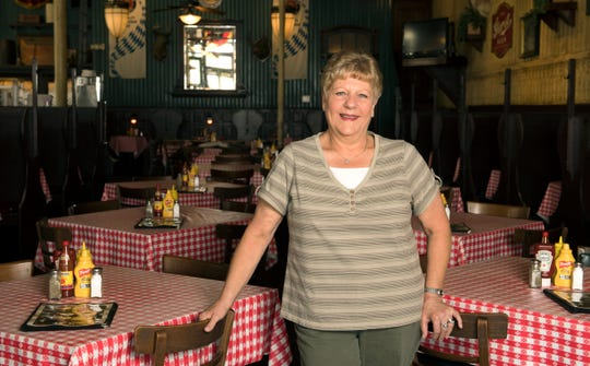 Janet Trautvetter has served since she was 15 including 26 years at the Hilltop Inn and 16 at Gerst Haus.