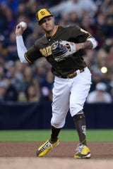 The Colorado Rockies host Manny Machado and the San Diego Padres at 6:40 p.m. Thursday to start a four-game series.