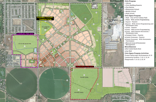 The Poudre School District Board of Education approved a land swap with Montava developer HF2M Tuesday night.