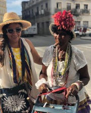 Fort Myers chef and travel guide Gloria Jordan, left, has been taking groups on trips to her native Havana since 2017.