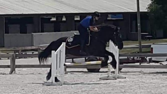 A trio of horsemen from the Lee County Sheriff's Office mounted guard put their prowess on display at the First Responder Games in Tampa, bringing home 13 medals, six of them gold.
