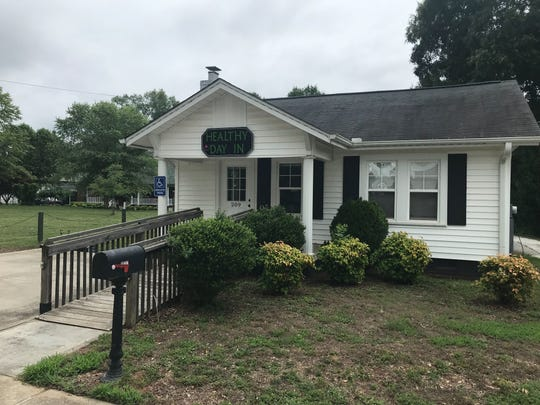 Healthy Day In, a spa on Trade Street in Simpsonville, is pictured on June 12, 2019.