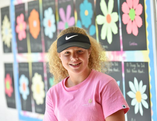 Paige Melick, 12, founded a fundraising program, Kidz in Lids, that directly benefits families of children who have cancer.