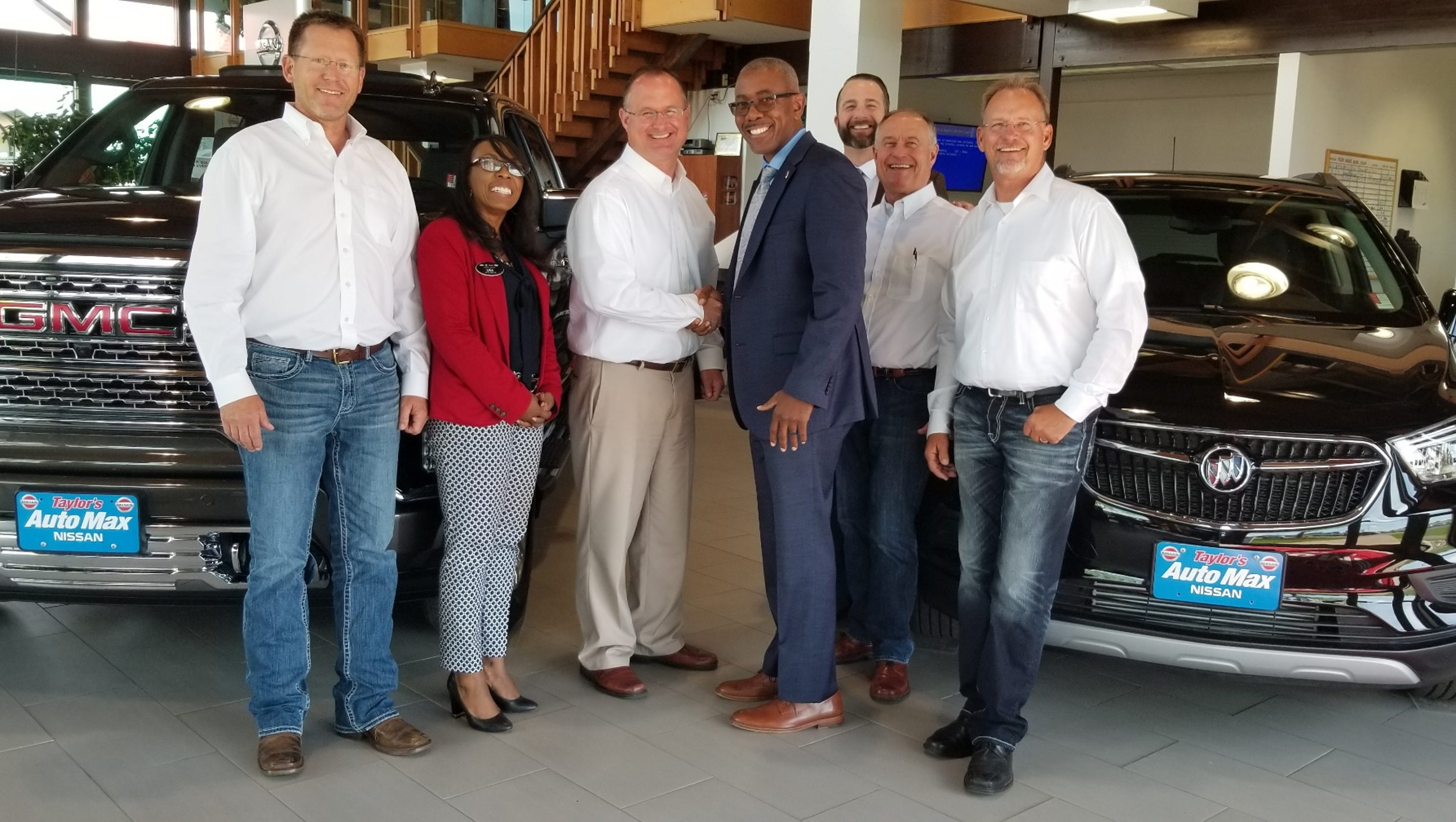 Lithia Great Falls >> Taylor's Auto Max buys Buick GMC franchise from downtown ...