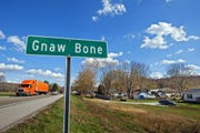 Gnaw Bone in Brown County.