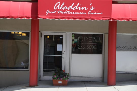 Aladdin's Natural Eatery was open in Collegetown in Ithaca for about 30 years.