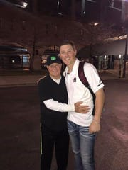 Mississippi State right fielder Elijah MacNamee and his Grandpa Bruce loved to talk baseball 24/7, MacNamee's mother Jennifer Horton said.