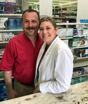 Ric and Erin Martinez of Madison own and operate Choice Pharmacy in Ridgeland.