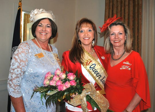 Donna Olivier, Royalty Chair, Stephanie Fakier, Queen Xanadu XXIX and Rebecca Donohue.