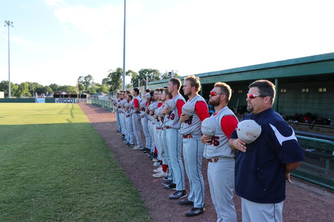 The Acadiana Cane Cutters take on the Victoria Generals at Fabacher Field Tuesday, June 11, 2019.