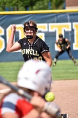 Howell pitcher Molly Carney hasn't allowed an earned run in five state tournament games.