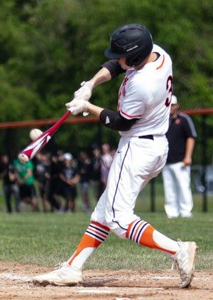 Brighton's Zach Hopman led Livingston County in batting average, home runs and RBI in 2019.