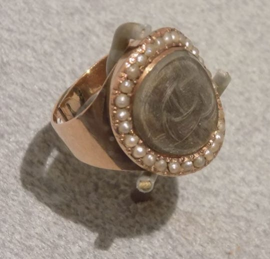 "The ""Dueling Grounds"" exhibit, which includes this historic ring, is open at the Old State Capitol in Frankfort until October 2019."