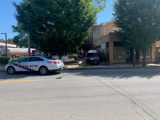 Police responded Wednesday morning to Chill Bar on Bardstown Road in the Highlands after a van accidentally drove into the gay bar's front patio.