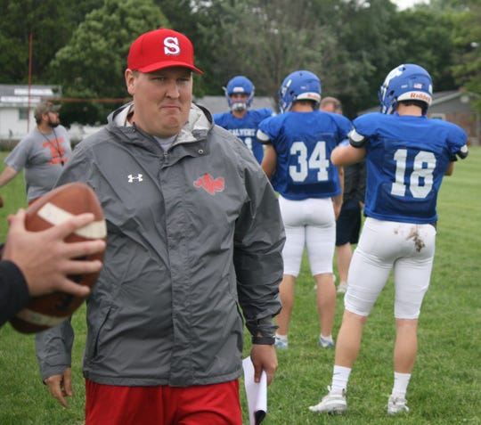 North all-stars coach Rob Mahaney is the new head coach at Shelby and son-in-law of Ashland University head coach Lee Owens