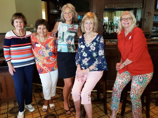 From left, Darol Traeger, Dorothy Litras, Carol Ann Anzalone, Dorothy Harkness and Joyce Martindell.