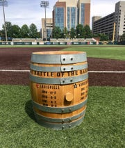 The Battle of Barrel is the annual baseball rivalry between Vanderbilt and Louisville. The oak barrel is given to the winner each year.