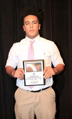 Fairview High School's Region 6 AAA 2018 Super Region Team Most Valuable Offensive Lineman - Hiller Gray.