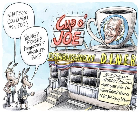 Joe Biden's diner May 9, 2019