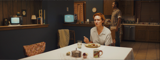 """Actress Breeda Wool in Nora Kirkpatrick's short film """"Long Time Listener, First Time Caller,"""" shot in Joshua Tree and screening at the 2019 ShortFest in Palm Springs."""