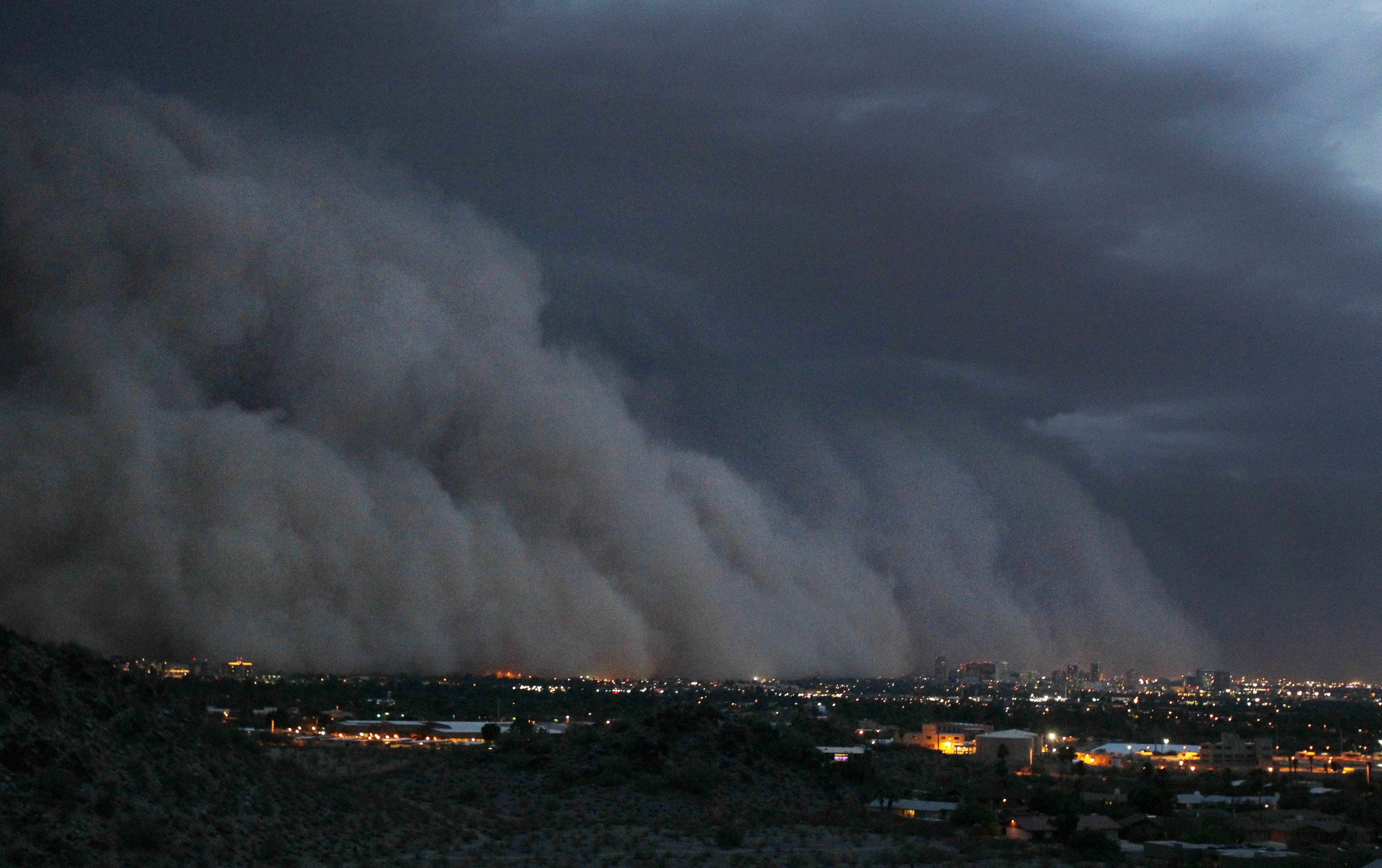Summer storms are a spectacle, but the dust in them is hazardous to your health