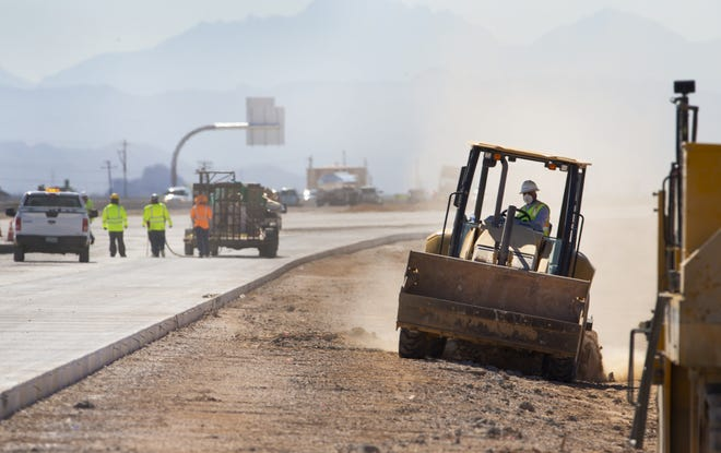 As ADOT crews work to widen a stretch of Interstate 10 near Picacho Peak, they are also installing a dust detection system to help keep drivers safe. The 24 hour monitoring system will alert drivers to the low visibility and slow traffic down by lowering the speed limits.