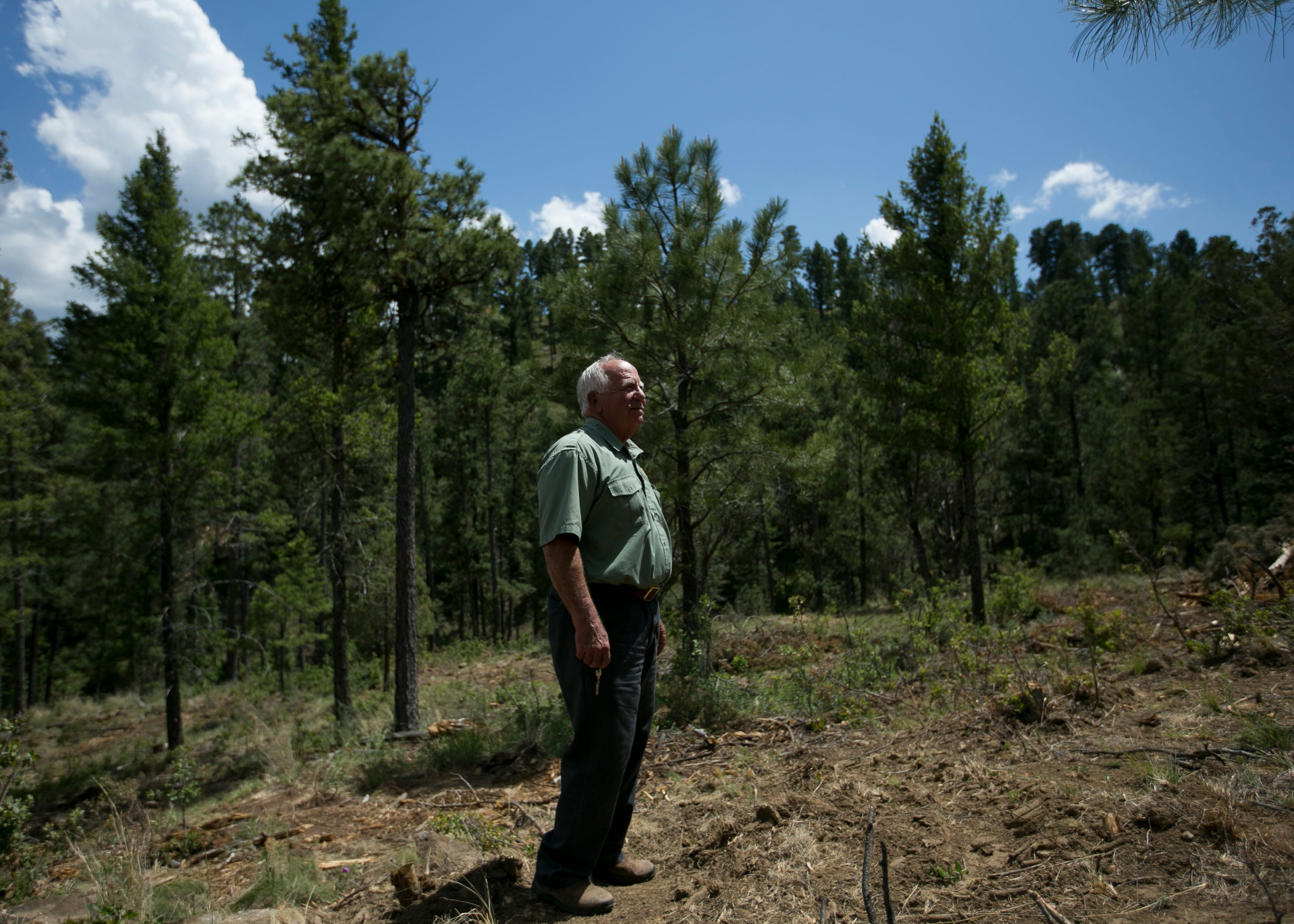 Forestry Director Dick Cooke says the Ruidoso wildfire ordinance is probably the village's best defense.